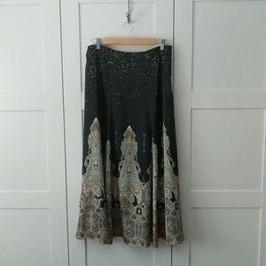 Unlisted Skirts - Boho Flowy Maxi Skirt